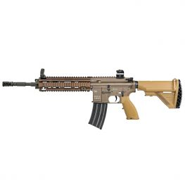 heckler & koch hk416 v2 cqb 14.5 tan